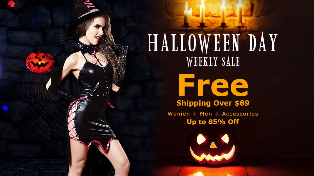 Halloween Day Weekly Sale: Up.